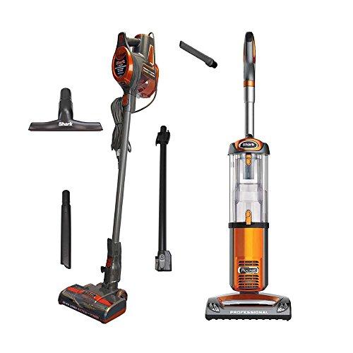 Orange Bagless Vacuum (Shark Rocket Vacuum + Rocket Ultralight Vacuum, Orange, Certified Refurbished)