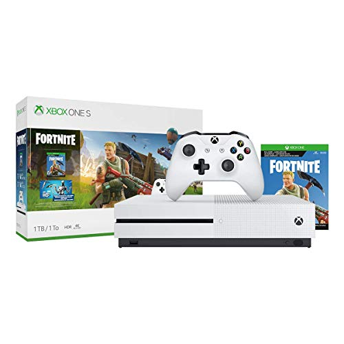 Xbox One S 1TB Console – Fortnite Bundle (Discontinued) (Certified Refurbished)