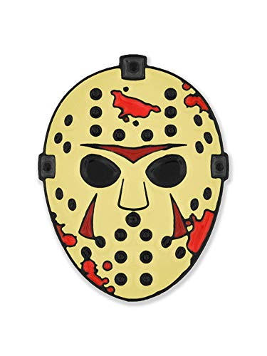 PinMart Hockey Mask Slasher Halloween Horror Movie Lover Enamel Lapel Pin -