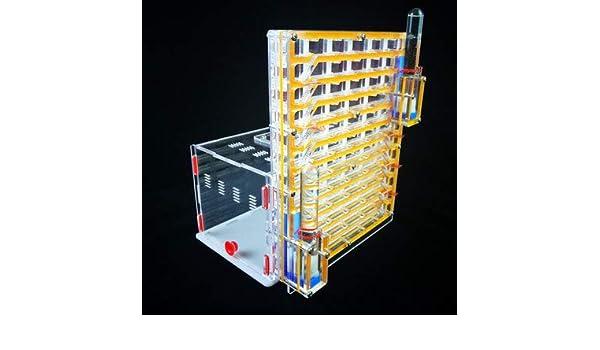 Juguete Educativo Redondo Yuan para Hormigas y Hormigas, con Doble Torre, con Zona de alimentación, Hormigas, Hormigas acrílicas, Juguete de Granja de ...
