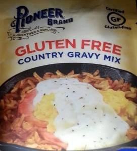 Price comparison product image Pioneer Brand Gluten Free Country Gravy Mix 2.75 Oz (Pack of 3)