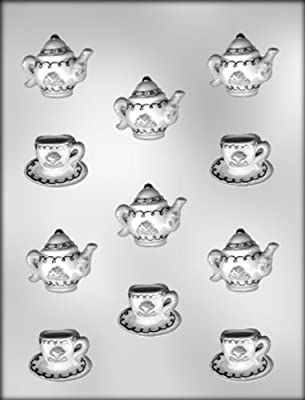 CK Products Cup, Saucer, and Teapot Chocolate Mold
