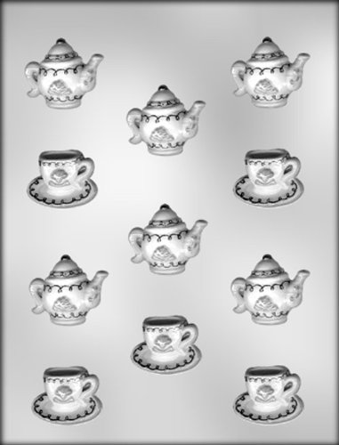 CK Products Cup, Saucer, and Teapot Chocolate Mold ()