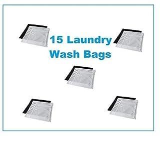 93aab92e0e0e Ikea 15 Laundry Wash Bags w/ Zippers & Hanging Hooks Protect ...