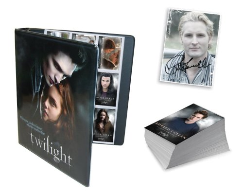 NECA Amazon Exclusive! Twilight Limited Edition Trading Card Set w/ Official Binder (Twilight Trading Cards)
