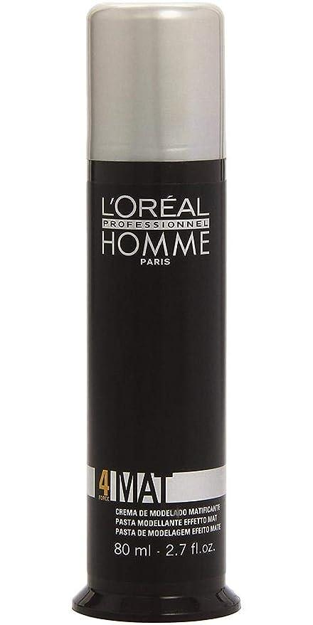 Homme Crème 80ml Finition L'oréal Pour Mat By Matt De Professionnel Coiffage L'oreal oexWrdCB