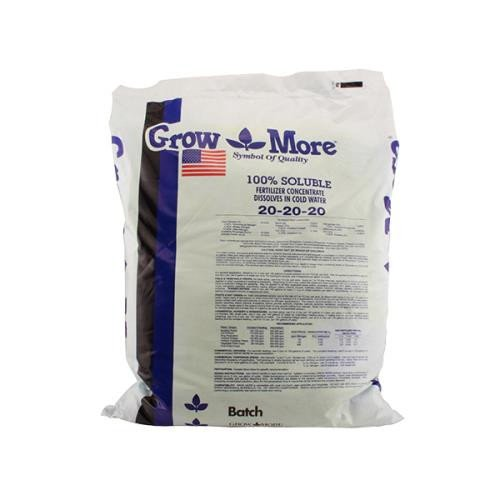 Grow More 5010 All Purpose Fertilizer 20-20-20, 25-Pound ()