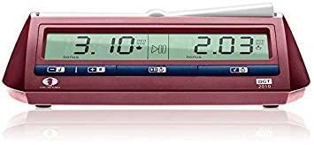 The DGT 2010 Digital Chess Clock Timer by DGT Projects [Toy] (English Manual
