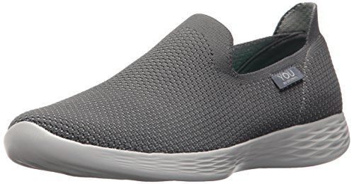 You Grau Damen Charcoal Define Charcoal Zehentrenner Skechers T4Oqx6wvw