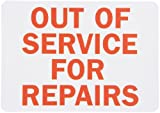 out of service signs - SmartSign Magnetic Sign, Legend