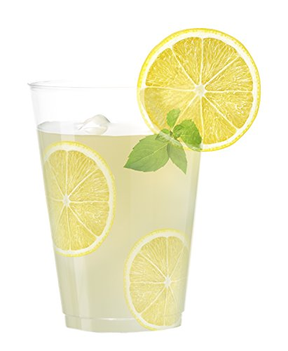 Embellish Crystal Clear Hard Plastic 12oz Party Tumblers/Cups 40 ()