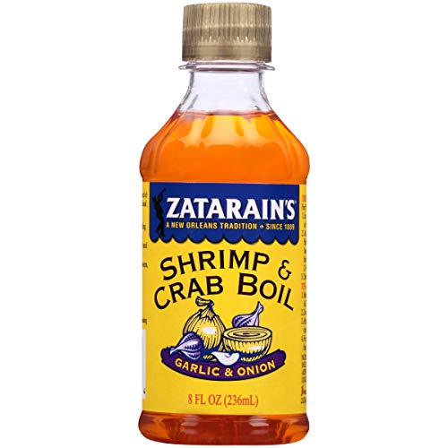 (ZATARAIN'S Crab and Shrimp Boil Liquid, Garlic and Onion, 8-Ounce (Pack of 6))