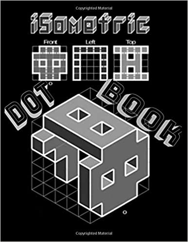 Isometric Dot Book Graph Paper Journal Notebook Architecture Grid