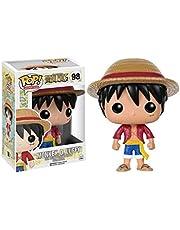 SLH POP Animation: One Piece - Monkey D. Luffy Vinyl Figure Exclusive Collectible Figure,Multicolor Figures