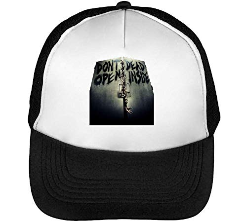 Walking Don'T Blanco Open Beisbol The Inside Gorras Hombre Negro Snapback wrZrtq