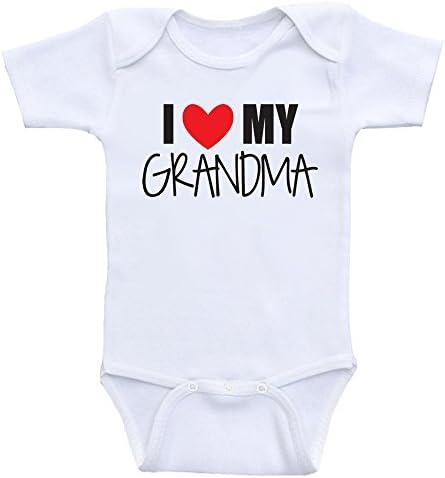 Sleepsuit Boy//Girl//Unisex BabyGro My heart belongs to my Grandma