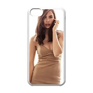 Gal Gadot_016 High Quality Specially Designed Skin cover Case For iphone 5c White
