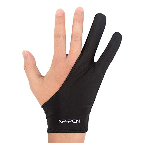 XP-Pen Professional Artist Glove for Graphics Drawing Tablet Good for Right Hand or Left Hand User