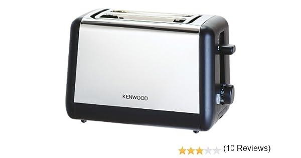 Kenwood Tostador 2 rebanadas compacto de metal pulido: Amazon.es: Hogar