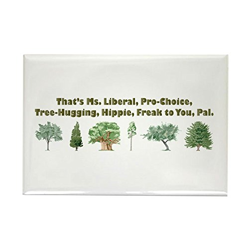 CafePress That's Ms. Liberal Rectangle Magnet, 2