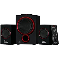 Theater Solutions by Goldwood Bluetooth 2.1 Speaker System 2.1-Channel Home Theater Speaker System, Black (TS212)
