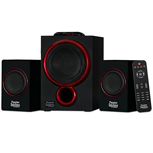 TS212 Powered Sub 2.1 Home Speaker System with Bluetooth 300