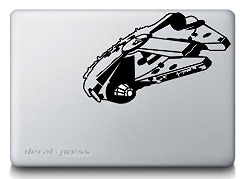 Millennium Falcon Decal Sticker MacBook product image
