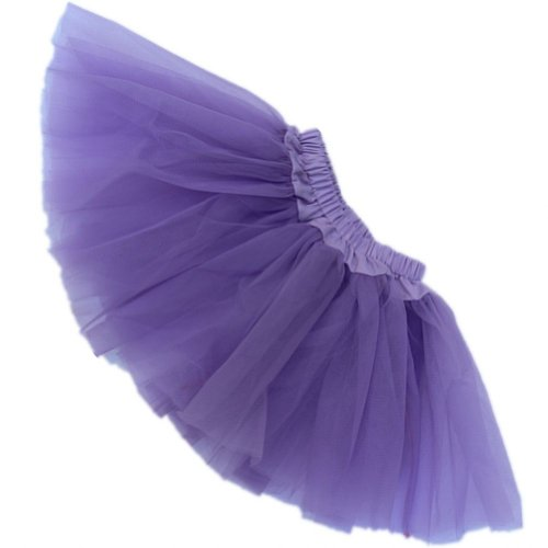 Buenos Ninos Girl's Tutu Assorted Colors (Purple) -