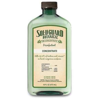 Melaleuca Sol U Guard Botanical 2X Disinfectant 16Oz