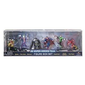 "DC Super Heroes Team Figure Set (6-Pack), 2.75"""