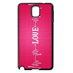 VNCASE Love Pink Phone Case For samsung galaxy note 3 N9000 [Pattern-1] by supermalls