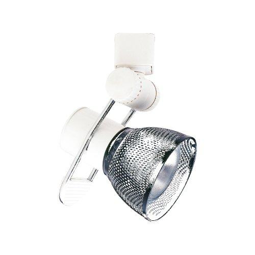 PLC Lighting TR204 SN Track Lighting Lamp Shade Comet-I Collection, Satin Nickel Finish
