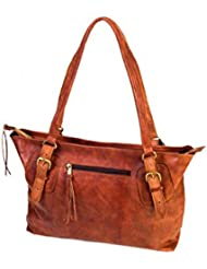 Handolederco Womens New Handbag Genuine Leather Shoulder Bags Tote Bag Handbag