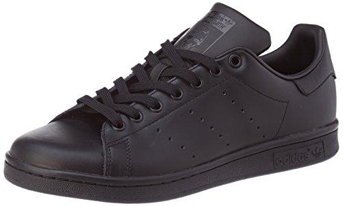 Adidas Originals Stan Smith, Zapatillas de Deporte Unisex Adulto Negro (Black/Black/Black)