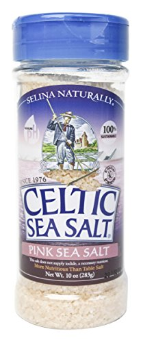 Celtic Sea Salt Pink Sea Salt shaker , 10 Ounce (Slat Shaker)