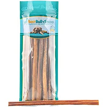 12-inch Odor-Free Angus Bully Sticks by Best Bully Sticks (12 Pack) Free Range, Grass Fed Angus Beef