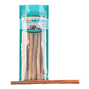 Best Bully Sticks 12-inch Odor-Free Angus Bully Sticks by (12 Pack) Free Range, Grass Fed Angus Beef