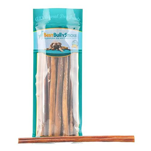 12-inch Odor-Free Angus Bully Sticks by Best Bully Sticks (12 Pack) Free Range, Grass Fed Angus Beef (In 12 Bully Sticks)