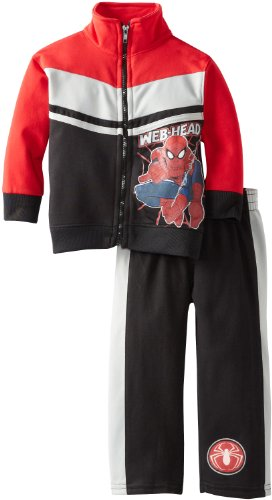 Marvel Boys 2-7 Ultimate Spiderman Web and Flow Tricot Set
