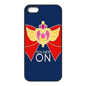 High Quality Specially Designed Skin cover Case Sailor Moon SuperS iPhone 4 4s Cell Phone Case Black