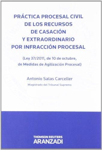 Descargar Libro Práctica Procesal Civil De Los Recursos De Casación Y Extraordinario Por Infracción Procesal - Antonio Salas Carceller
