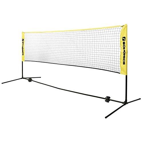chollos oferta descuentos barato SONGMICS 3 m Red de Tenis Bádminton de Longitud de Pie Altura Ajustable Entre 107 155 cm SYQ300Y