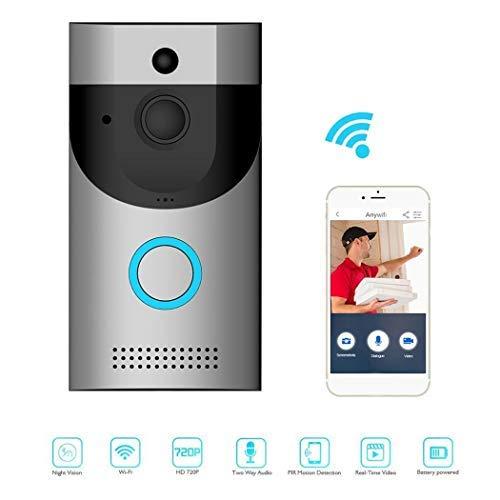 Erholi Home Alarm Smart Wifi Wireless Video Intercom Doorbell Kits by erholi (Image #8)