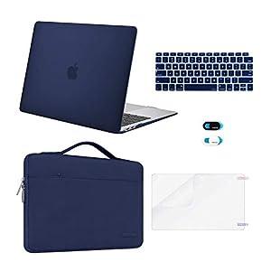 MOSISO MacBook Air 13 inch Case 2020 2019 2018 Release A2337 M1 A2179 A1932Plastic Hard Case Bag Keyboard