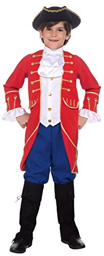 Forum Novelties Founding Father Child's Costume, Medium - Benjamin Franklin Halloween Costume