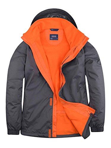 Jacket Deluxe fiery Orange Outdoor Uc621 Deep Large Grey 8qvzz0wT