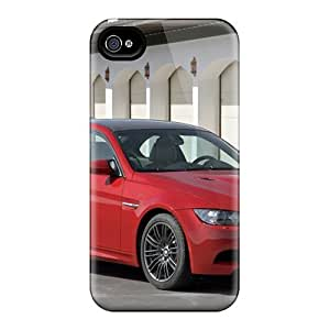For Iphone 6 Plus Tpu Phone Cases Covers(red Bmw M3 Front Angle)