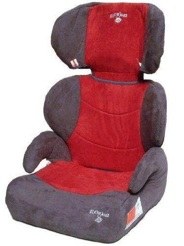 Autokindersitz Stella von UNITED-KIDS, Rot-Grau, Sonderpreis!, Gruppe II/III, 15-36 kg
