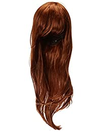 """Outop 28""""Women's Hair Wig New Fashion Long Big Wavy Hair Heat Resistant Wig for Cosplay Party Costume (Brown)"""