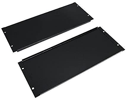 2 Pack 1U / 2U / 3U / 4U Blank Rack Mount Panel Server Network Racks Enclosures Spacer 19 inch (4U 7 inch) Rising